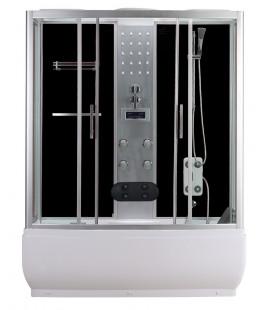 Masážní sprchový box s vanou TR150 150x150x223